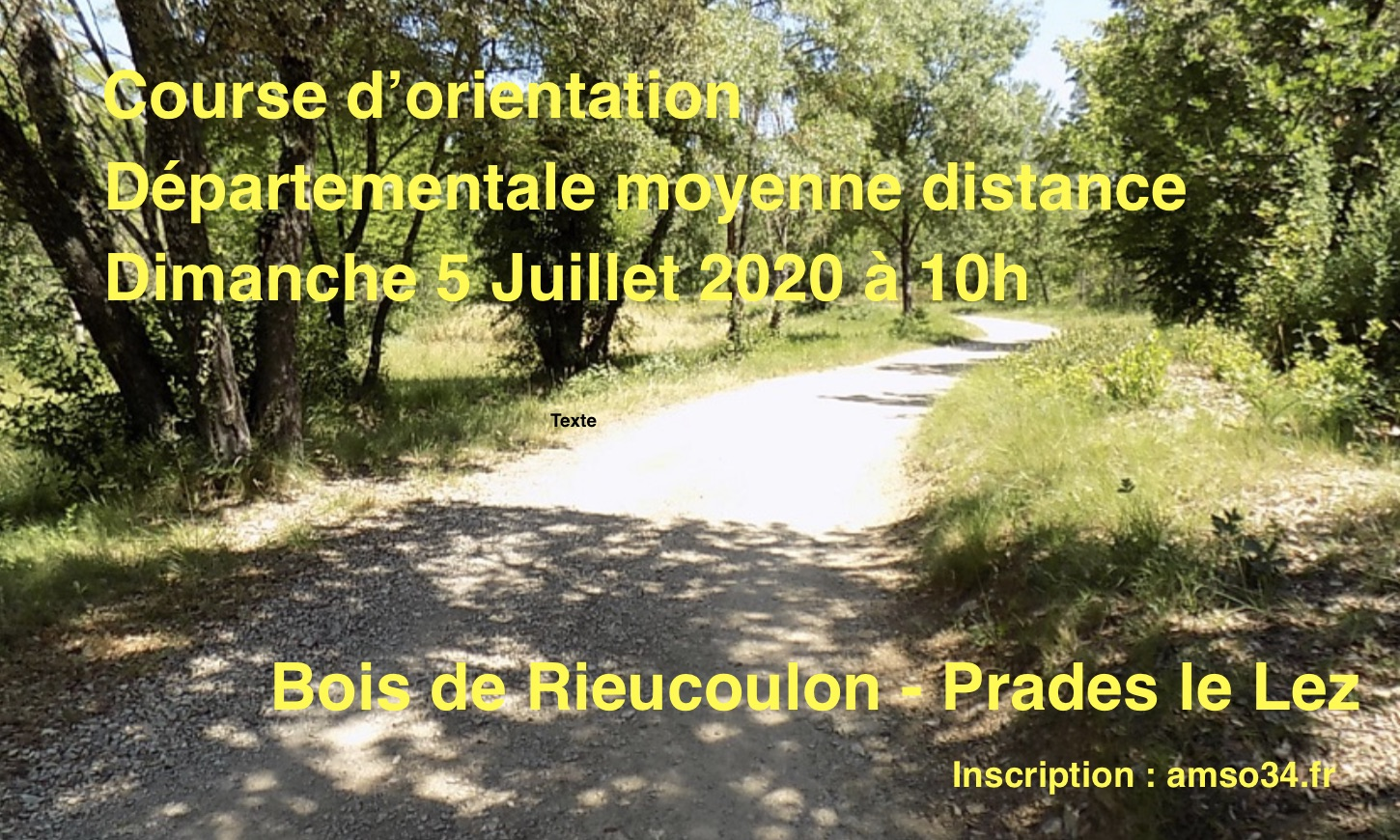 Course à Montferrier le 5 juillet 2020